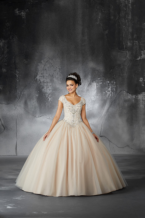60060 (Champagne) Prom                                             dress by Morilee Valencia