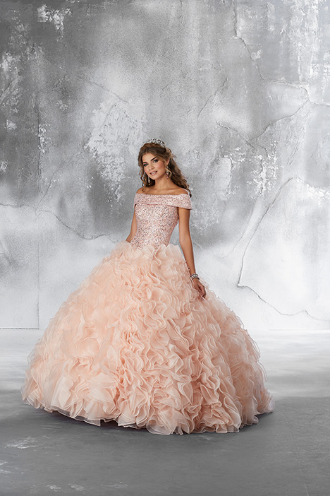 89182 (Blush) Prom                                             dress by Morilee Vizcaya