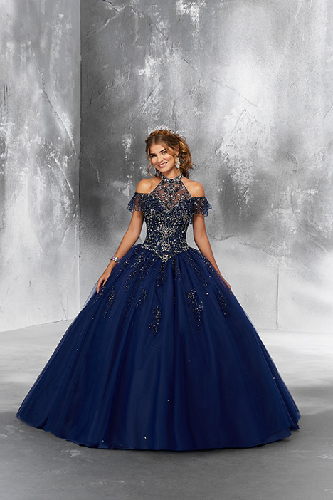 89183 (Navy) Prom                                             dress by Morilee Vizcaya