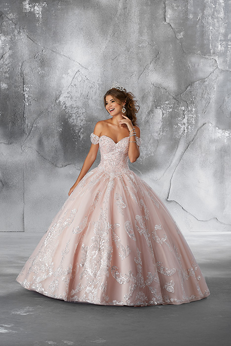 89186 (Blush) Prom                                             dress by Morilee Vizcaya