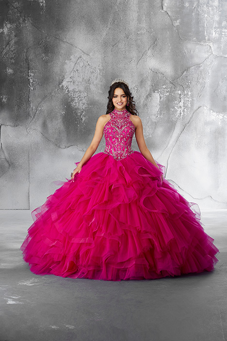 89187 (Fuchsia) Prom                                             dress by Morilee Vizcaya