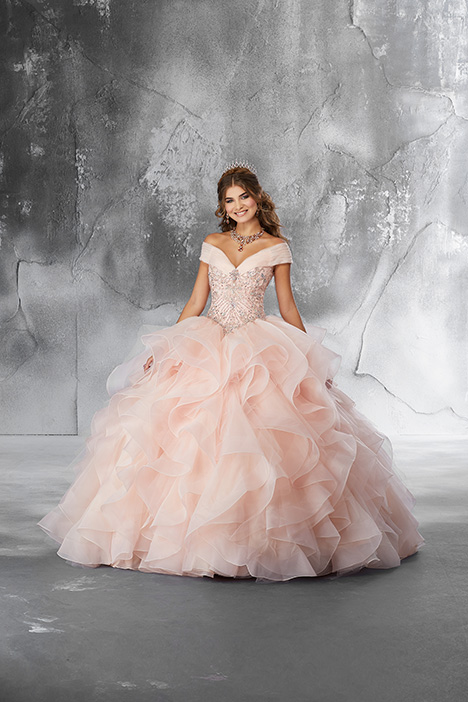 89188 (Blush) Prom                                             dress by Morilee Vizcaya