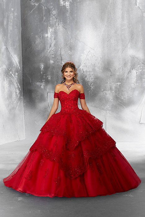89190 (Scarlet) Prom                                             dress by Morilee Vizcaya