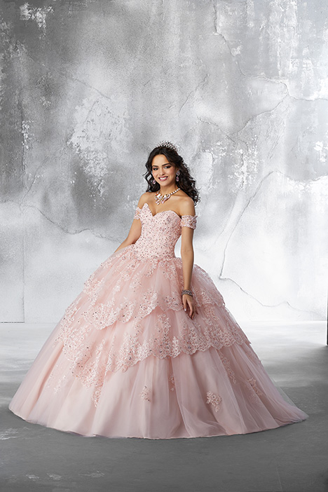 89190 (Blush) Prom                                             dress by Morilee Vizcaya