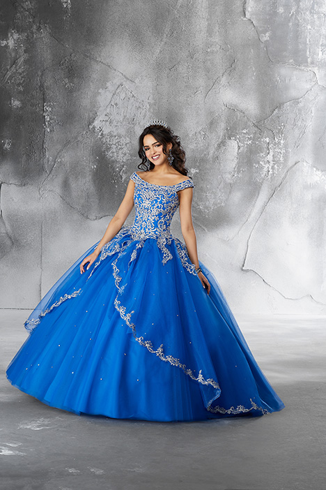 89191 (Royal) Prom                                             dress by Morilee Vizcaya