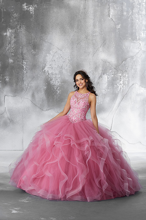 89194 (Dusty Rose) Prom                                             dress by Morilee Vizcaya