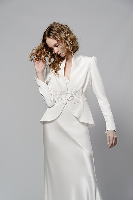 Bloom Jacket Wedding                                          dress by Elizabeth Fillmore