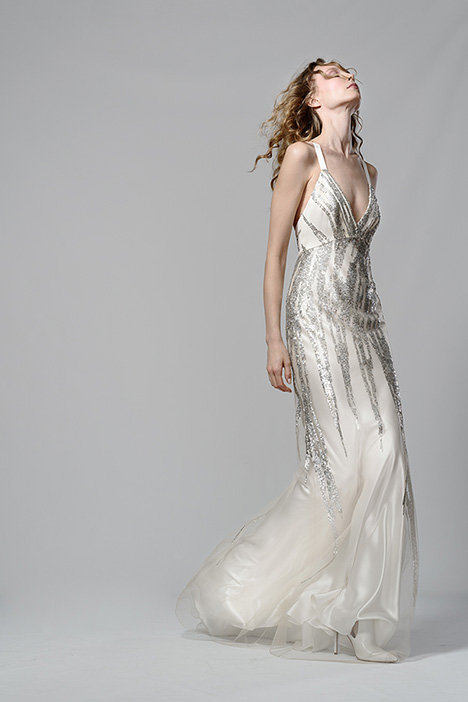 Eclipse Wedding dress by Elizabeth Fillmore
