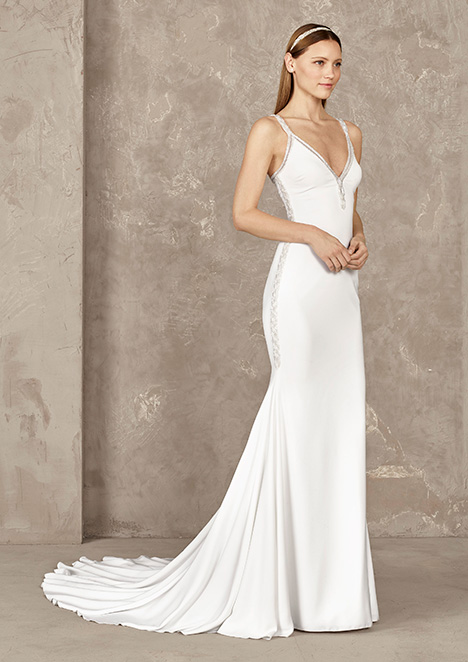 YALTA Wedding                                          dress by Pronovias Privée