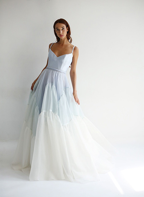 Cordelia (skirt) Wedding                                          dress by Leanne Marshall