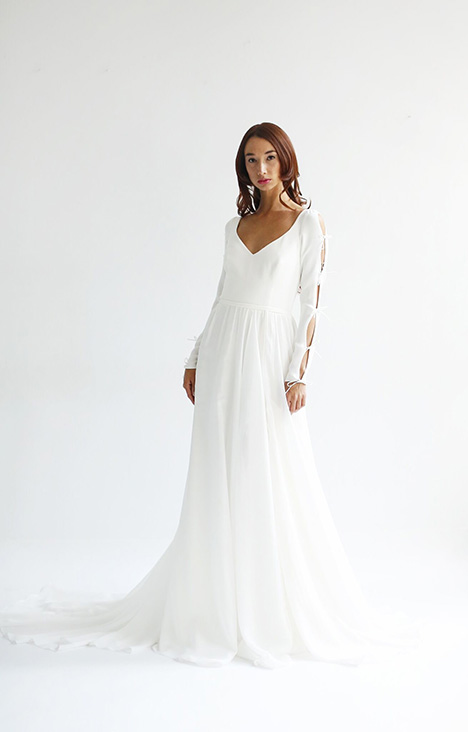 Saundra Wedding                                          dress by Leanne Marshall
