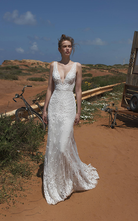 Cameron Wedding                                          dress by Limor Rosen