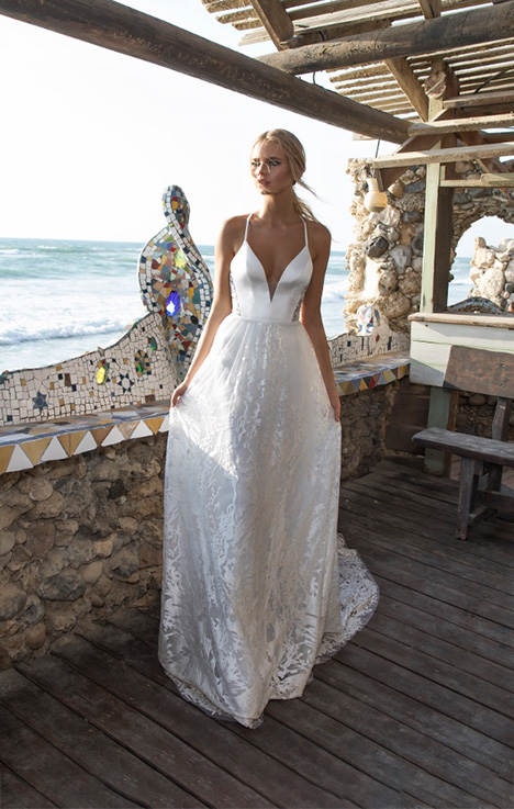 Melanie Wedding                                          dress by Limor Rosen