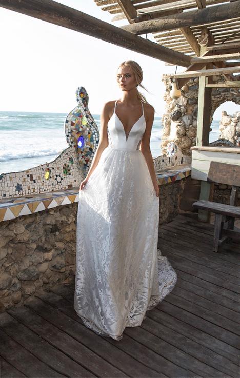 Melanie Wedding                                          dress by Limor Rosen