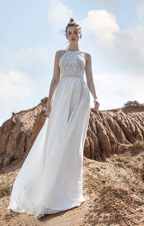 Whitney Wedding                                          dress by Limor Rosen