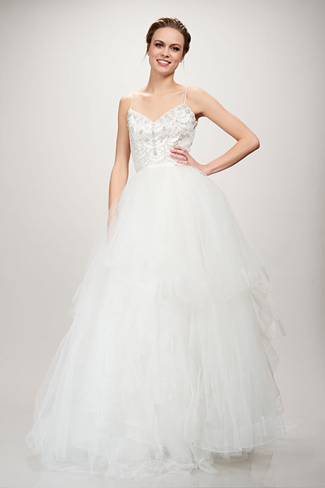 890251 (Skirt) Wedding                                          dress by Theia White Collection