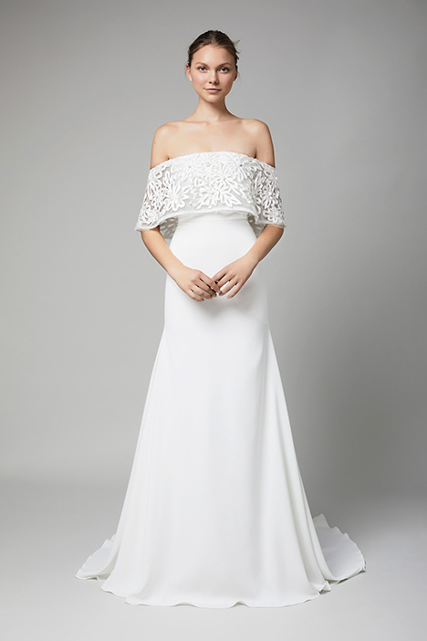 The Bordeaux Wedding                                          dress by Lela Rose