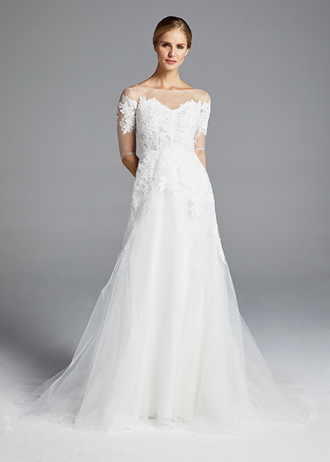 ROSSALLINI Wedding                                          dress by Anne Barge