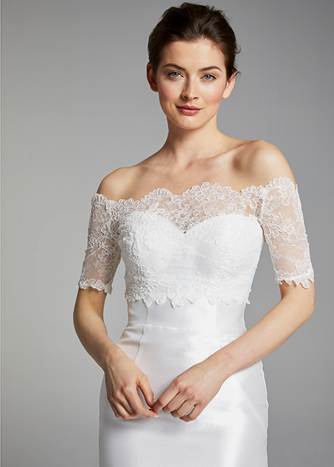 ANITA (top) gown from the 2019 Blue Willow by Anne Barge collection, as seen on dressfinder.ca