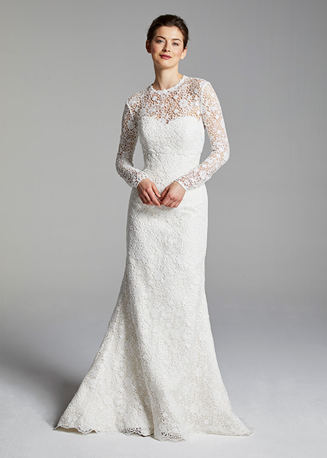 KEATON (topper) gown from the 2019 Blue Willow by Anne Barge collection, as seen on dressfinder.ca
