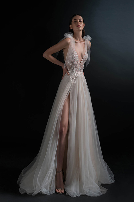 PURE-18-013 Wedding dress by PURE by Inbal Dror