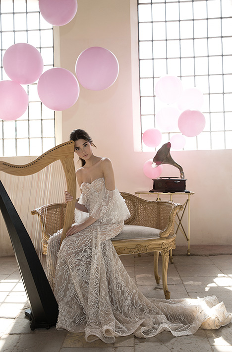 Cara Wedding                                          dress by Lee Petra Grebenau