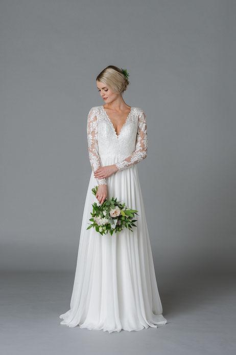 James Wedding dress by Lis Simon