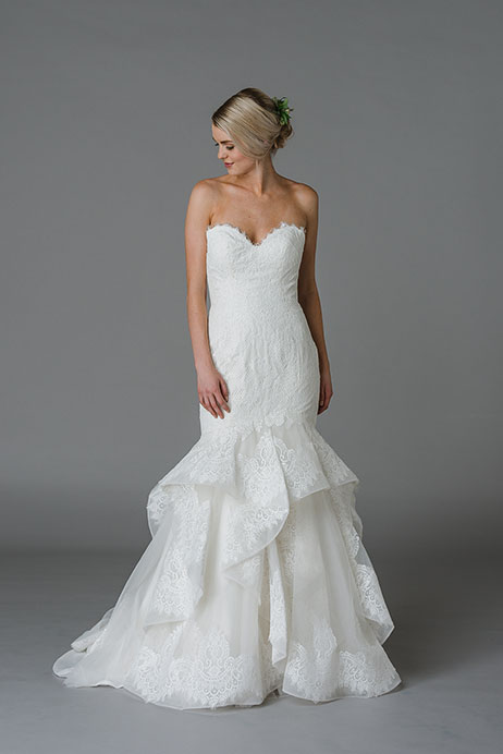 Jasper Wedding                                          dress by Lis Simon