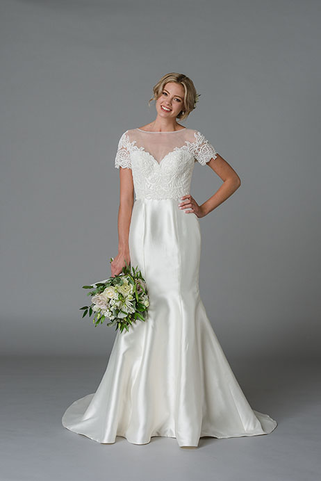 Jayne Wedding                                          dress by Lis Simon