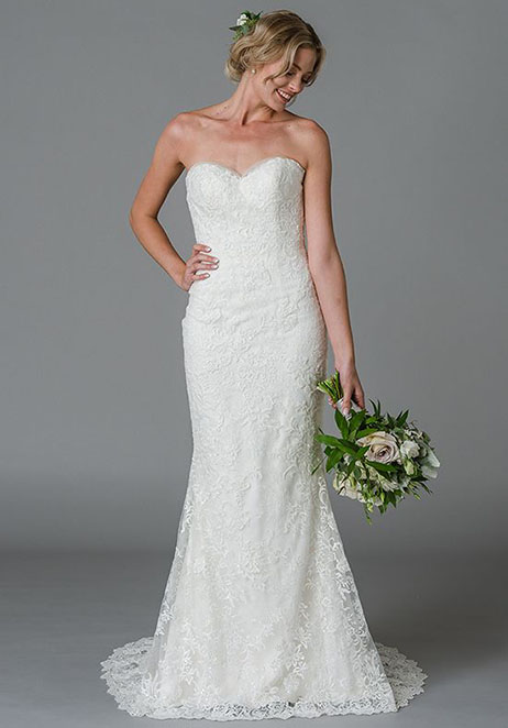 Jenny Wedding                                          dress by Lis Simon
