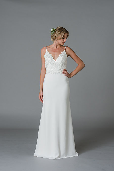 Jodene Wedding                                          dress by Lis Simon