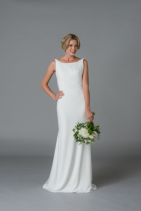 Jolie Wedding                                          dress by Lis Simon