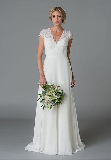 Josie Wedding                                          dress by Lis Simon