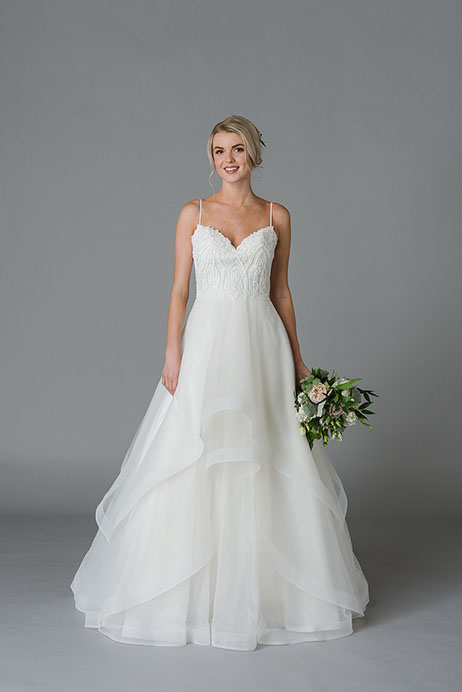 Joyce Wedding                                          dress by Lis Simon