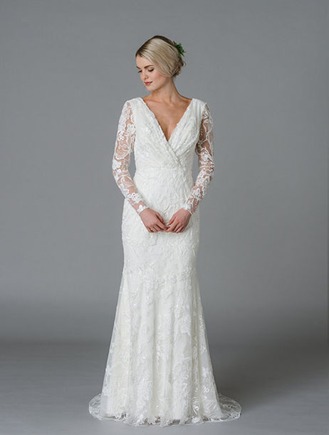 Judith Wedding                                          dress by Lis Simon