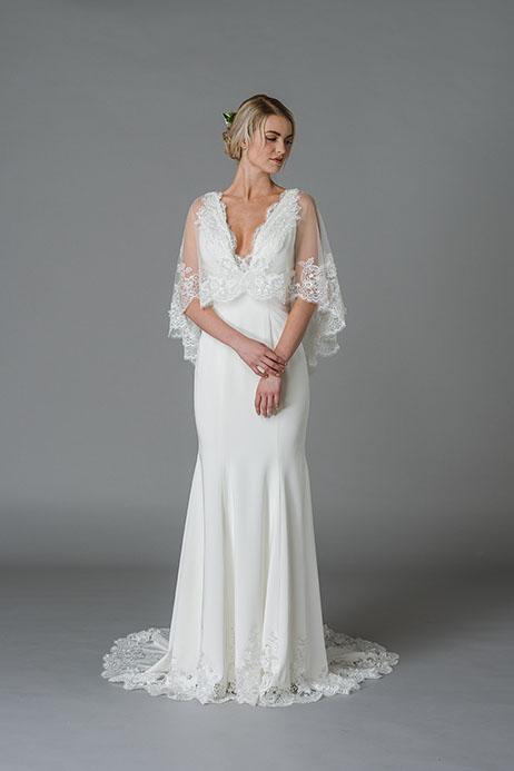 Julie Wedding dress by Lis Simon