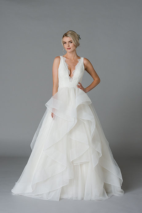 June Wedding                                          dress by Lis Simon