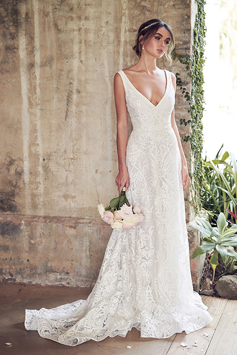 Jamie (Empress Lace Skirt) Wedding                                          dress by Anna Campbell