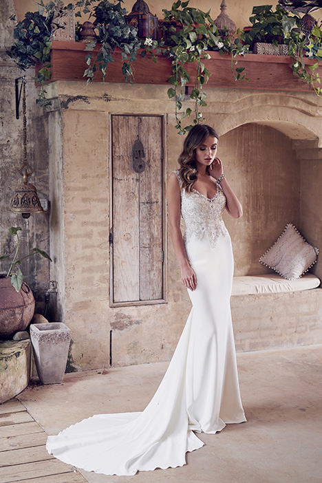 Paige (Crepe de Chine) Wedding                                          dress by Anna Campbell