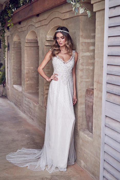 Paige (Embellished) Wedding                                          dress by Anna Campbell