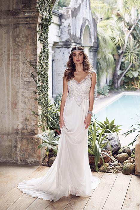 Paige (Slimline Chiffon Skirt) Wedding                                          dress by Anna Campbell