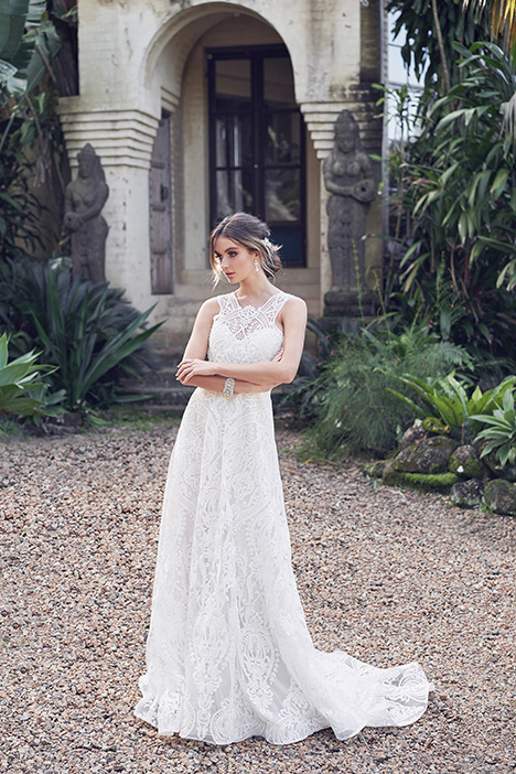 Winter (Empress Lace Skirt) Wedding                                          dress by Anna Campbell