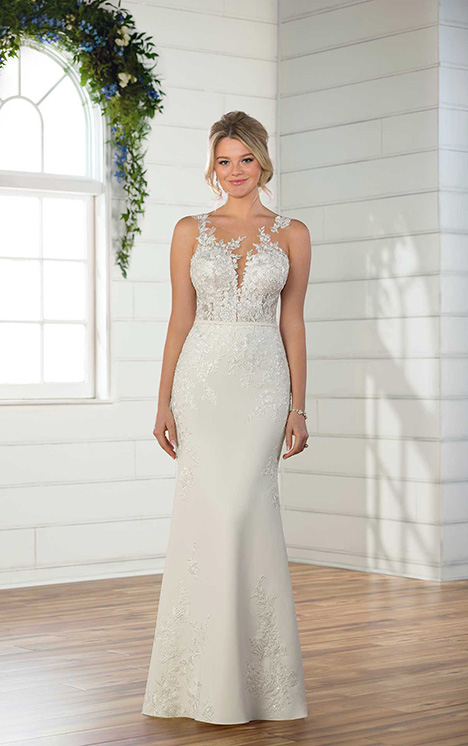 D2388 gown from the 2018 Essense of Australia collection, as seen on dressfinder.ca