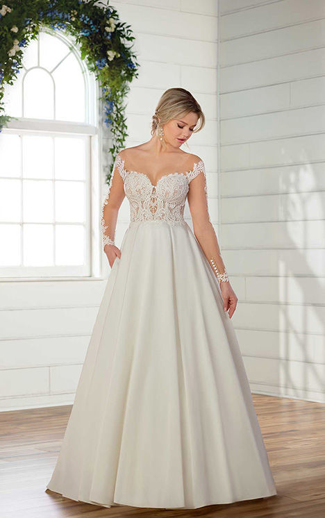 D2567 Wedding                                          dress by Essense of Australia