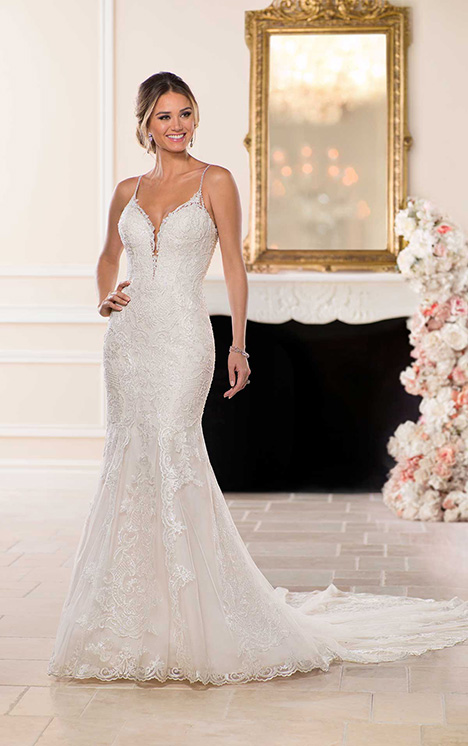 6574 Wedding                                          dress by Stella York
