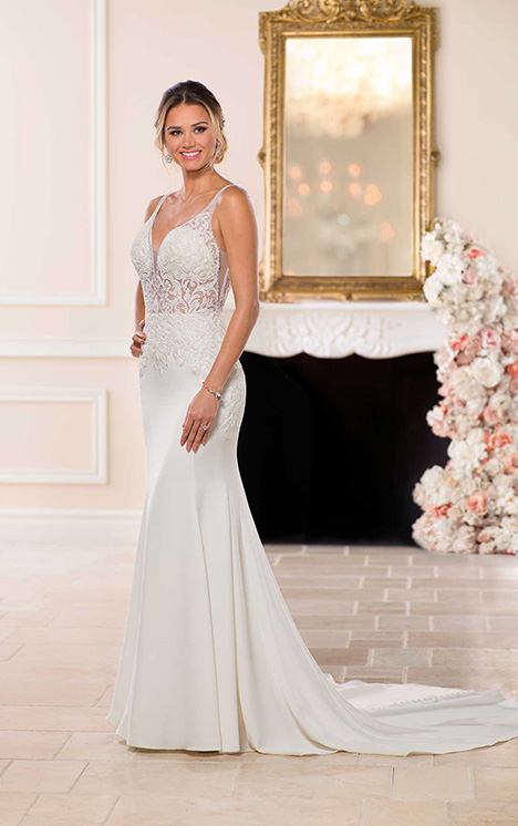6638 Wedding                                          dress by Stella York