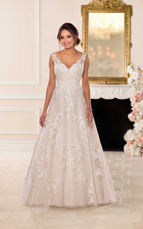 6649 Wedding                                          dress by Stella York