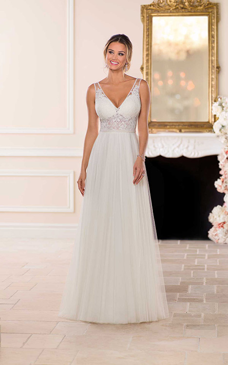 6674 Wedding                                          dress by Stella York