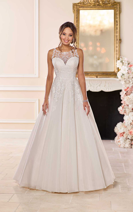 6675 Wedding                                          dress by Stella York
