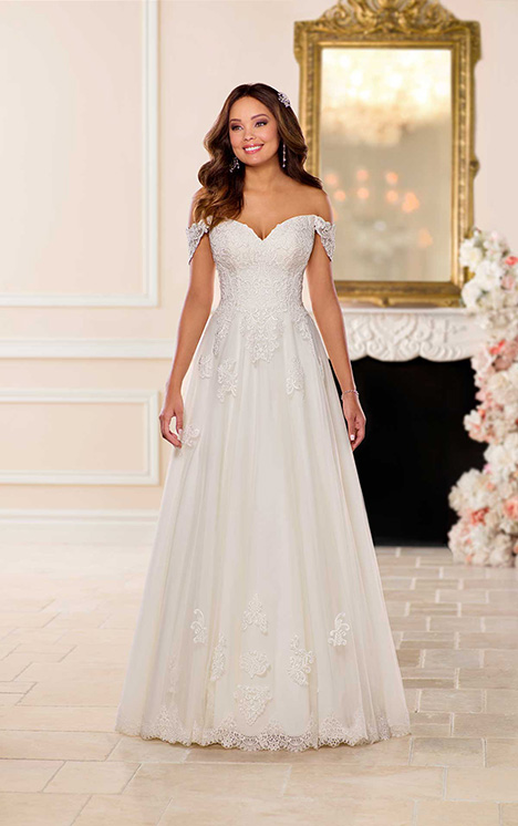 6684 Wedding                                          dress by Stella York